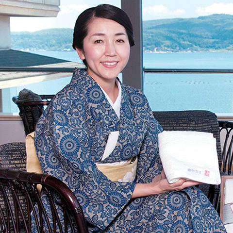 加賀屋 若女将 小田絵里香さん
