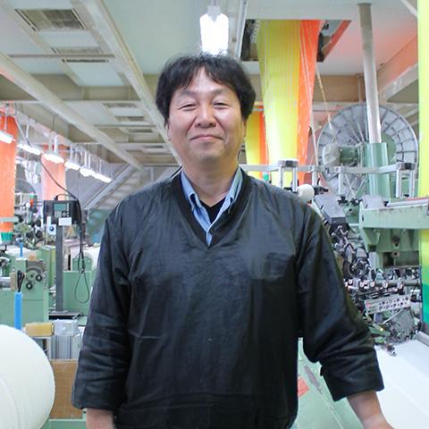 田中産業株式会社 整経製織部門 部門長 山岡浩司