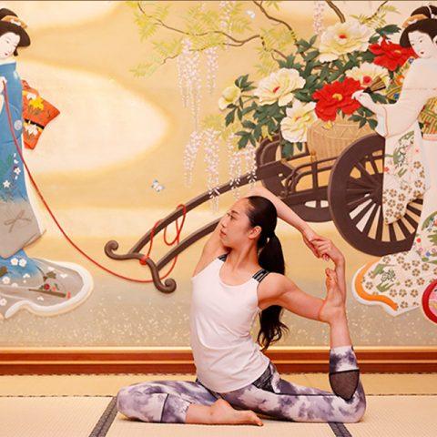 ホテル雅叙園東京「モーニングヨガ」9/4(水)・9/8(日)に協賛しました。